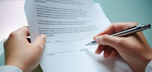 Составление и редактирование контрактов